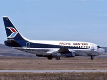 Pacific West Boeing 737